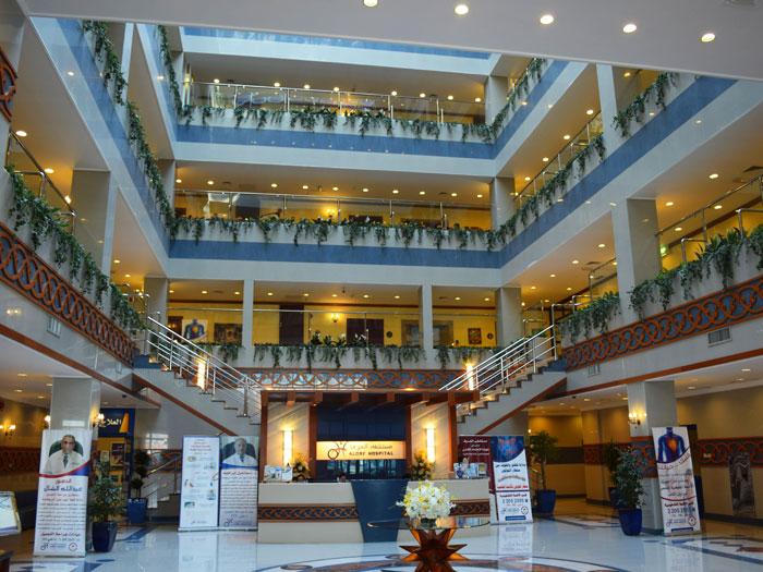 Alorf Hospital home